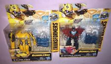 Transformers BUMBLEBEE & OPTIMUS PRIME ENERGON IGNITORS ACTION FIGURES **NEW**