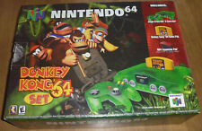 AUTHENTIC Nintendo 64 N64 DONKEY KONG Jungle Green SYSTEM Complete CIB NUS-001