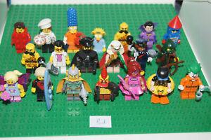 20 LEGO SERIES Minifigures / Minifigs mix BATMAN SIMPSONS 16 17 18 (Bd) GENUINE