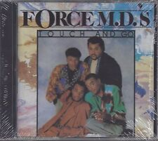 "FORCE M.D.'S  ""Touch And Go""  NEW SEALED RARE OOP R&B CD"