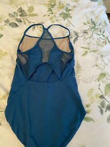 Blue Bloch Dance Leotard
