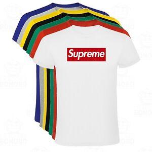 Camiseta Supreme estampada Skate hombre tallas y colores