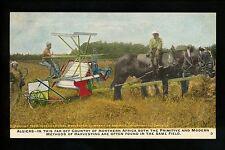 Advertising postcard Farming Equipment Internation Harvester Co. Chicago, IL