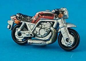 Micro Machines - Honda CR750 Motorcycle, Silver 1987