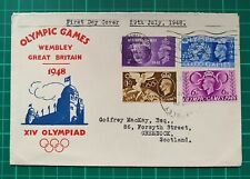 More details for 1948 olympic games fdc