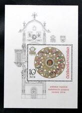 TIMBRES DE TCHECOSLOVAQUIE : 1978 YVERT BLOC FEUILLET N° 43** NEUF PRAGA 78 TBE