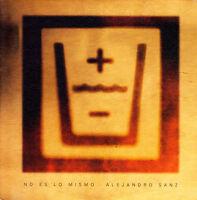 ALEJANDRO SANZ - NO ES LO MISMO CD SINGLE 1 TRACK PROMO 2003