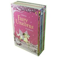 Usborne Fairy Unicorns Collection NEW 6 Books Set Zanna Davidson Magic Forest