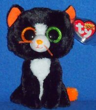 "TY BEANIE BOOS BOO'S - FRIGHTS the 6"" CAT- MINT with MINT TAGS"