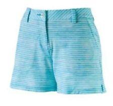 PUMA Women Printed 5in Golf Shorts Blue Atoll 12