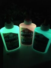 Elmers GLOW IN THE DARK Glitter Glue 3 Pack Blue Green Pink Great for Slime