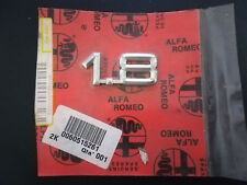 "Original ALFA ROMEO Modellzeichen Emblem ""1.8"" CHROM Art.Nr. 60515261"