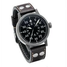 Laco Friedrichshafen Aviator Watch, Ref. 861753, Automatic, Steel Sand-Blasted