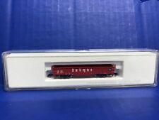 Marklin Z Gauge 8224 Red Burlington Gondola In Box