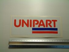 Unipart Decal Toolbox Classic Rally Car Workshop Garage