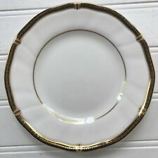 Wedgwood Windsor Black Bread and Butter Plate Bone China Made in England