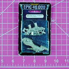 Epic 40K Space Marine Thunderhawk Gunship NIB Metal OOP Games Workshop Warhammer