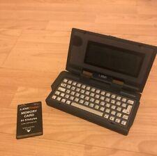 Atari Portfolio Palmtop Pocket PC Vintage Computer 16 Bit Memory Card