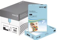 XEROX SYMPHONY A4 80GSM Coloured Pastel Blue PAPER 50 SHEETS