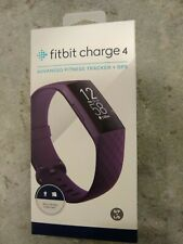Brand New Fitbit Charge 4 Advanced Fitness Tracker + GPS Rosewood Small & Large