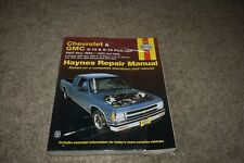 1982-1994 Chevy S-10 Blazer Gmc S-15 Jimmy Oldsmobile Olds Bravada repair manual