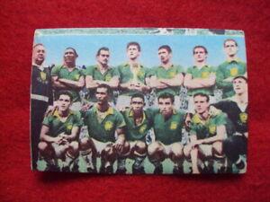 Team Brazil 1958 (Album Sicker new Bundesliga 1964/65) Pele, Garrincha, Vavá,...