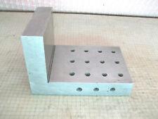 Machinist Tool Maker Angle Plate Block 4x4x6 Hardened Grind Fixture Tool