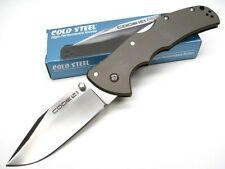 COLD STEEL Clip Point CODE 4 Straight Edge CTS XHP Folding Knife 58TPCC New!