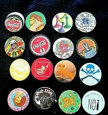 New listing Mixed Collection of 16 Pogs