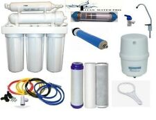 Reverse Osmosis Alkaline/Ionizer ORP Water Filter System 100 GPD 6 Stage RO