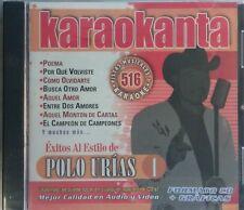 Polo Urias Karaoke KAR-4516 Karaokanta Spanish Español CDG