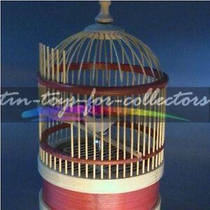 MECHANISCHER SINGVOGEL AUTOMAT - SINGING BIRD - FIGURENAUTOMAT MIT STIMMME (S)