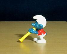 Smurfs Magic Flute Player Smurf Flautist Recorder Vintage Figure PVC Toy 20048
