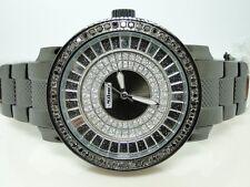NEW MENS JOJO/JOJINO/JOE RODEO BLACK DIAMOND WATCH 2.25 CT PJ1037A