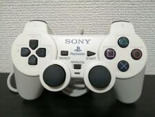 USED Analog Controller Ceramic White (DUALSHOCK 2) tested working JAPAN Import