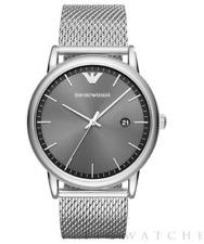 EMPORIO ARMANI Men's Luigi Stainless Steel Mesh Bracelet Watch AR11069