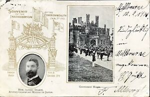 POSTCARD INAGURATION OF THE COMMONWEALTH