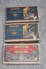 3 Boxes Propp Noma Mazda Lamps Indoor Outdoor Xmas Swirl Lights Working 1927