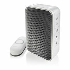 Honeywell Series 3 Plug-in Wireless Doorbell/Door Chime & Push Button