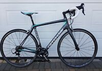 Womens Cannondale Synapse Carbon 105 Road Bike. 56cm Large. Fully Serviced