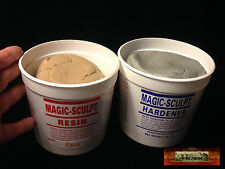 M02055 MOREZMORE 5 lb TAN Magic Sculpt Sculp Epoxy Clay Model Putty T20A