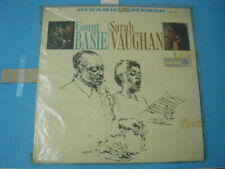 RT LP VINYL RECORD SARAH VAUGHAN AND COUNT BASIE 1961 (OPEN)