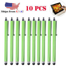 10x Green Universal Stylus Touch Screen Pen for Tablet Phone iPod-iPad PC