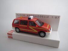 """BUSCH  44618  Chrysler  Voyager  """"Feuerwehr""""  1:87  OVP !!"""