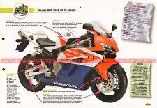 HONDA CBR 1000 RR Fireblade 2004-2005 Joe Bar Team Fiche Moto #003314