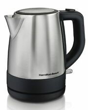 Hamilton Beach 40998 Electric Kettle Tea Coffee 1.7 Liter Stainless Steel
