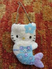 Vintage Sanrio Hello Kitty Accessories , sequin purse , never used