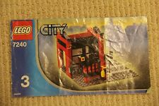 Lego 7240 Manual #3 Only