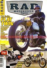 RAD MAGAZINE 14 BMW R50 S Racing R100/7 NINE T DUCATI Monster TRIUMPH Bonneville