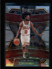 COBY WHITE 2019/20 PANINI SELECT #48 ROOKIE (CHICAGO BULLS RC) AZ2292